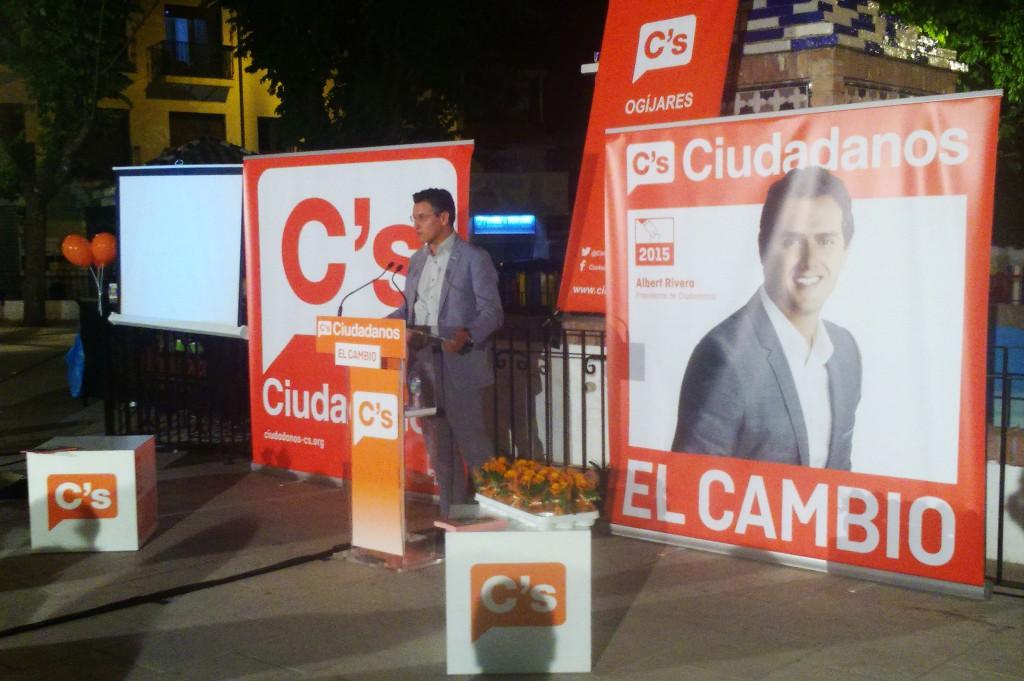 Luis Salvador, en la presentación de la candidatura de Ogíjares