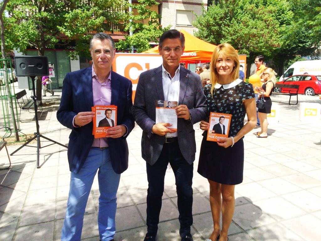 Luis Salvador, en la presentación de las medidas de Ciudadanos orientadas al turismo y el comercio