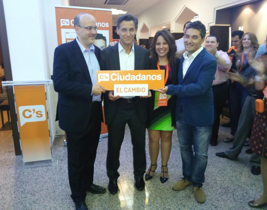 Raúl Fernández, Luis Salvador, Lorena Rodríguez y Manuel Olivares, nuevos concejales del Ayuntamiento de Granada