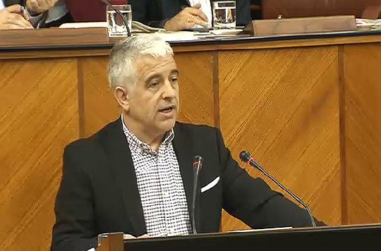 José Antonio Funes, durante su intervención
