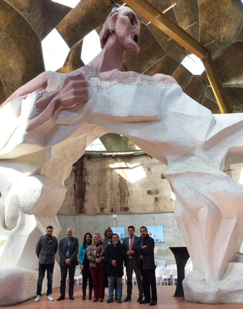 Ciudadanos, en el Pabellón de las Artes de Jun