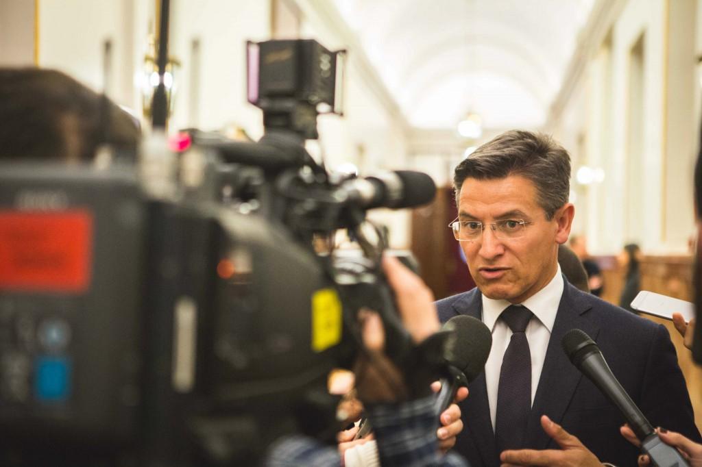 Luis Salvador ofrece declaraciones en el Congreso de los Diputados