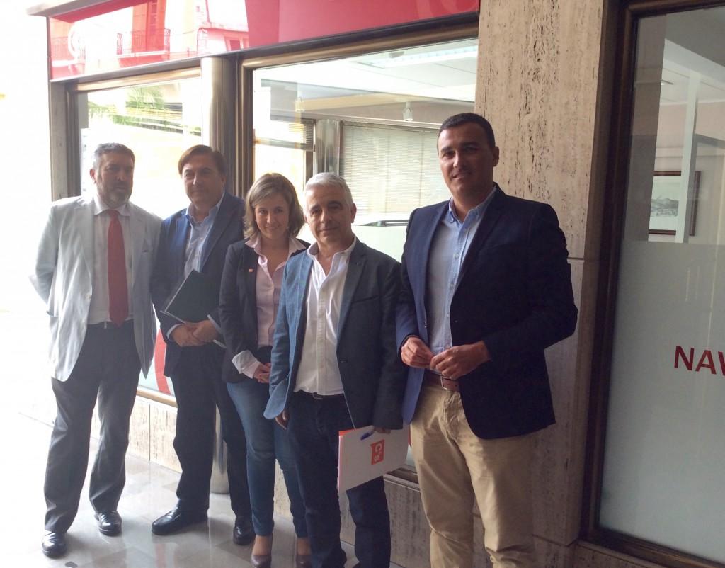 Con Ángel Gijón, presidente de la Cámara de Comercio de Motril