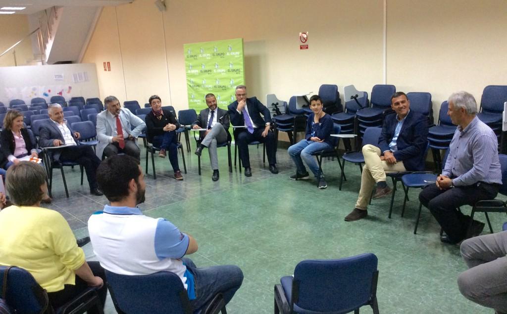 Reunión con la cooperativa de agricultores El Grupo de Castell de Ferro