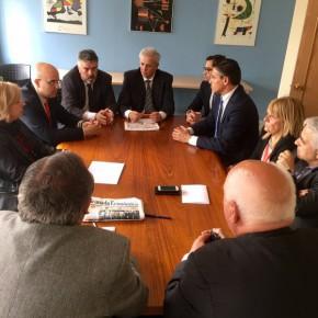 Visita institucional de Ciudadanos a Albolote para conocer las grandes demandas y reivindicaciones del municipio