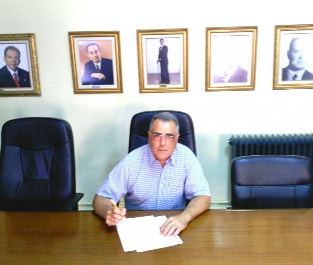 El concejal de Ciudadanos en Cúllar Vega José Manuel Casals