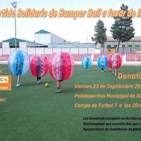 Las agrupaciones locales de Albolote y Atarfe de Ciudadanos organizan un partido benéfico para el niño Iker, aquejado de una enfermedad rara