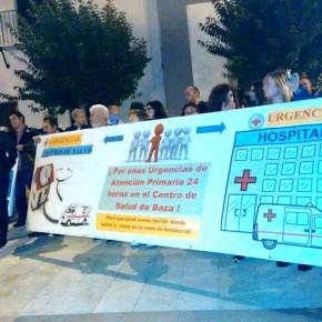 Ciudadanos Baza se manifiesta por el mantenimiento de las urgencias de atención primaria y su traslado al centro de salud de la ciudad