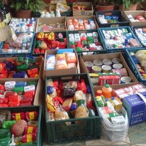Las agrupaciones de C's Albolote y C's Atarfe ponen en marcha una nueva campaña solidaria de recogida de productos de primera necesidad