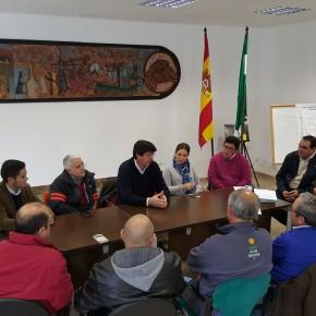 """Juan Marín: """"La administración no puede dar la espalda a algunos colectivos de ganaderos como los del cordero segureño"""""""