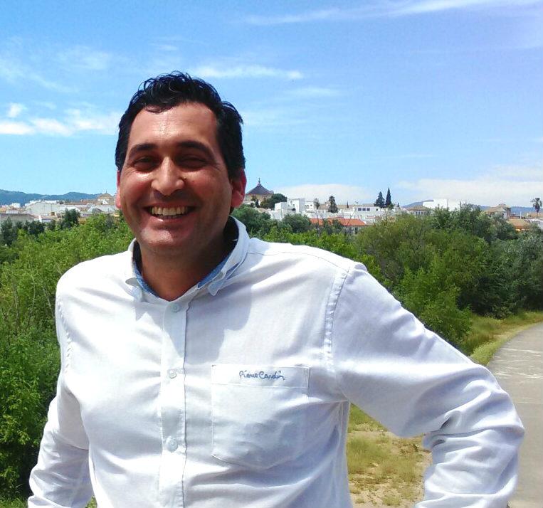 El portavoz del grupo municipal de Ciudadanos en Vegas del Genil Manuel Casares