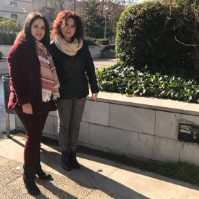 Ciudadanos pide un mejor mantenimiento y limpieza de la plaza junto al parking Palencia