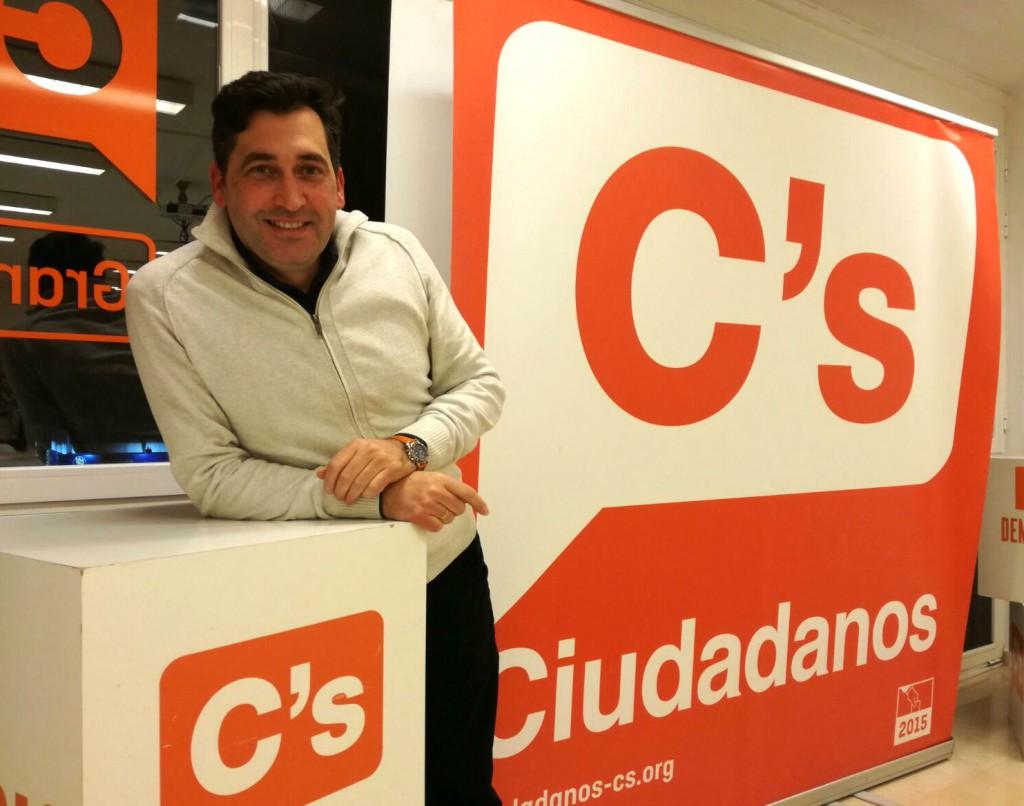 El portavoz de Cs en Vegas del Genil Manuel Casares
