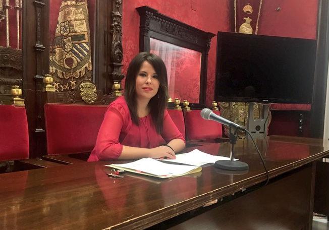 La concejal Lorena Rodríguez