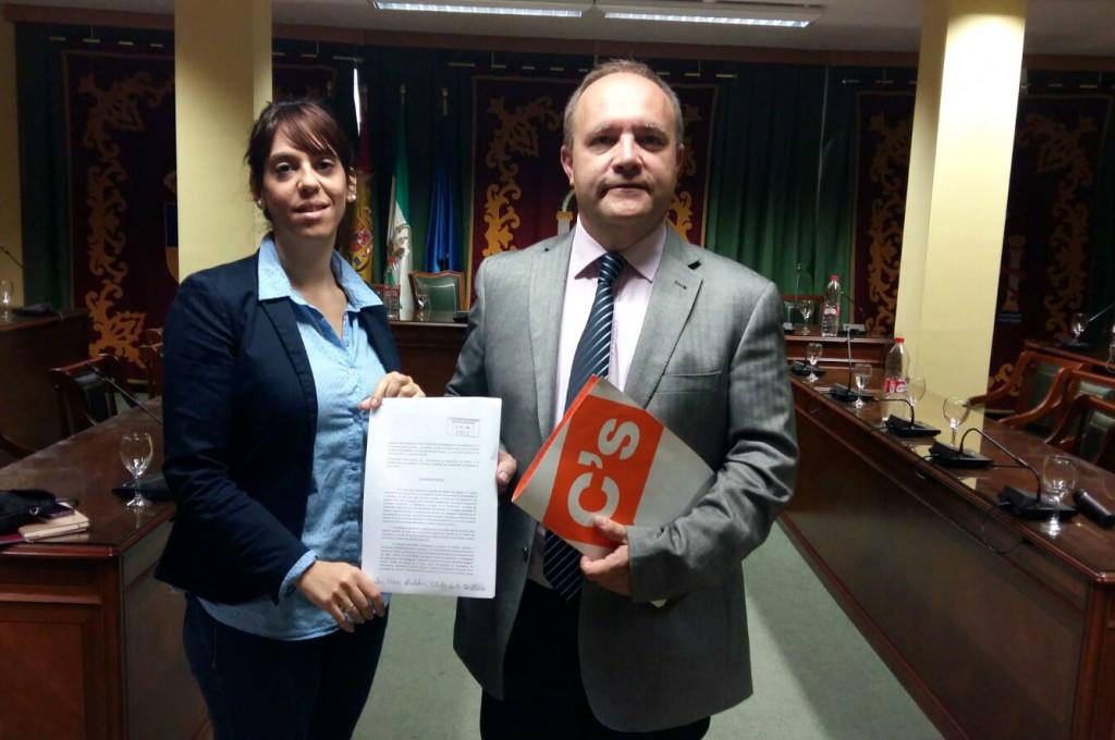 Los concejales de Cs en el Ayuntamiento de Maracena