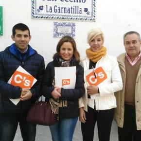 Ciudadanos Motril propone un servicio de traslado periódico a los centros de salud para los vecinos de La Garnatilla y Los Tablones