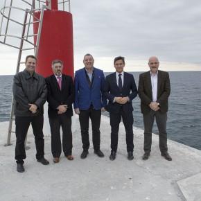 """Luis Salvador: """"El Puerto de Motril es una de las infraestructuras clave para el desarrollo de todo el potencial de la Costa Tropical"""""""