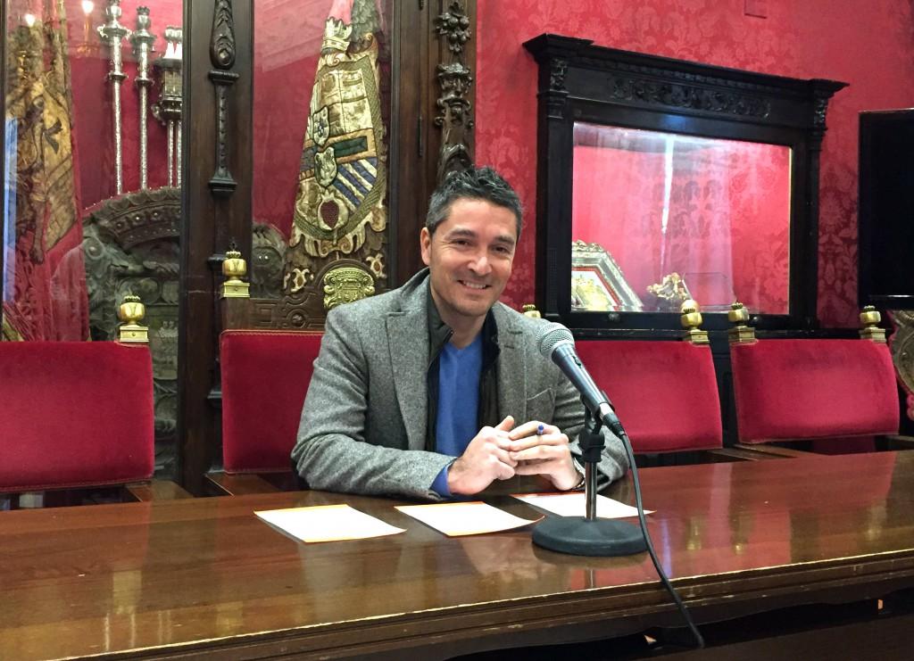 El portavoz de Cs en el Ayuntamiento de Granada Manuel Olivares