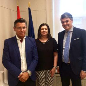 """Luis Salvador reivindica al Gobierno la importancia de acabar con la """"situación de desventaja"""" de Motril respecto al resto de líneas marítimas que operan con Melilla"""