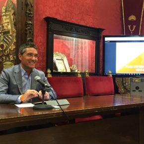 Ciudadanos presenta un plan de movilidad con líneas coordinadas con el área metropolitana para lograr un ahorro de ocho millones de euros