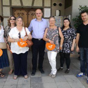 Ciudadanos reivindica a Diputación la ejecución de las obras de mejora de la carretera de La Zubia y de iluminación de la zona