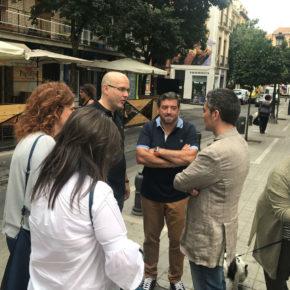 Ciudadanos reclama una mayor presencia de policías de barrio en el Realejo