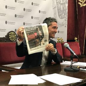 """Manuel Olivares: """"El PSOE ha hecho un plan de ajuste para los granadinos, no para el Ayuntamiento"""""""