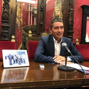 """Manuel Olivares: """"Paco Cuenca está actuando más como portavoz del PSOE que como alcalde de la ciudad y representante de todos los granadinos"""""""