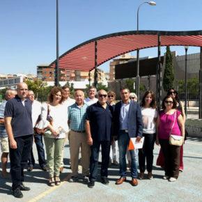 Ciudadanos celebra junto a los vecinos el año del cierre del Botellódromo y exige un uso deportivo para el recinto