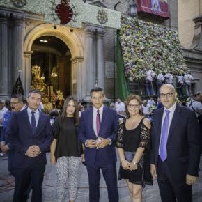 Ciudadanos participa en la Ofrenda Floral a la Virgen de las Angustias