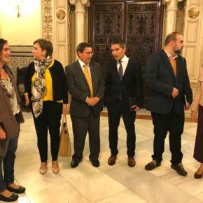 Manuel Olivares asegura que la máxima prioridad para Ciudadanos es la llegada inmediata del AVE a Granada