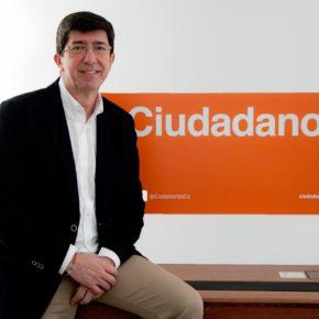 Juan Marín visita esta semana las provincias de Málaga y Granada