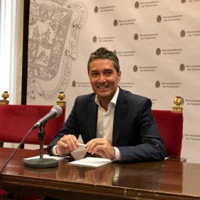 """Manuel Olivares: """"PSOE y PP vuelven a darse la mano para subir los impuestos a los granadinos"""""""