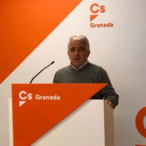 José Antonio Funes resalta el papel de estabilidad que aporta Ciudadanos en Andalucía, donde la reducción de impuestos no se ha trasladado a una merma de las políticas sociales