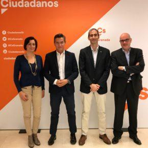 Luis Salvador traslada al SUP Granada el total apoyo de Cs a la equiparación salarial de los cuerpos de seguridad y avanzan líneas de colaboración para la provincia