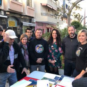 Ciudadanos Motril muestra su apoyo a Jusapol para la equiparación salarial