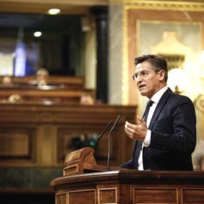 Luis Salvador apremia al Gobierno a desarrollar las gestiones económicas y de relaciones internacionales necesarias para que el acelerador de partículas que se va a instalar en Granada sea una realidad