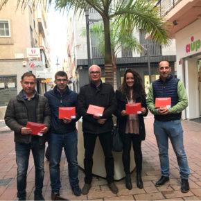 Ciudadanos realiza una encuesta entre los comerciantes de Motril con una propuesta de peatonalización del centro