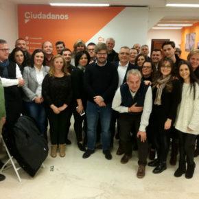 """Fran Hervías: """"En Ciudadanos no tenemos techo y en 2019 aspiramos a gobernar en un elevado número de municipios de Granada"""""""
