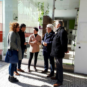 Ciudadanos elabora una batería de medidas para dar soluciones a las demandas de los vecinos y comercios del eje Arabial-Palencia