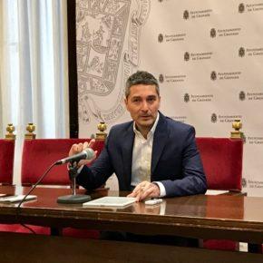 """Manuel Olivares: """"Detrás del plan de transporte del equipo de gobierno hay un intento de dejar sin una competencia más a esta ciudad a favor de la Junta"""""""