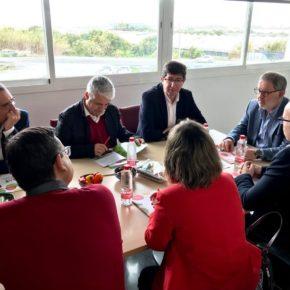 """Juan Marín: """"Debemos apostar por la formación y la investigación para hacer más competitivo el sector agrícola andaluz ante los nuevos retos del mercado europeo"""""""