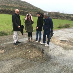 Ciudadanos insta a Diputación a acometer el arreglo del camino rural de Cobo que une históricamente las localidades de Guadix y Lugros