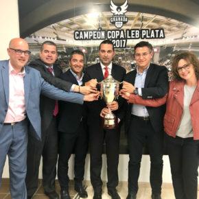 """Luis Salvador llama al acuerdo entre todas las formaciones para """"desarrollar un proyecto solvente en LEB Oro"""" para la Fundación CB Granada"""