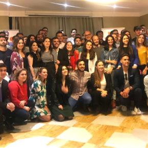 """Melisa Rodríguez: """"Los jóvenes andaluces no se resignan ni a las tasas de desempleo ni a la temporalidad de sus contratos"""""""
