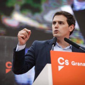 """Albert Rivera: """"Si hay que escoger entre España y pactar con los nacionalistas, nosotros siempre escogeremos a España"""""""