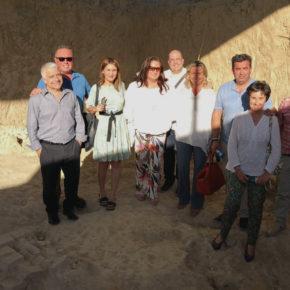José Antonio Funes destaca el papel de la Villa Romana de Salar como motor de desarrollo económico y pieza clave para el turismo cultural en la provincia de Granada