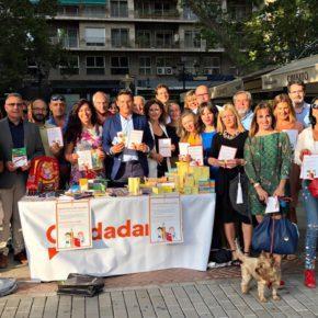 Ciudadanos Granada pone en marcha su quinta campaña de recogida de material escolar 'Lápices para pintar sonrisas'