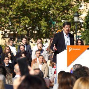 """Juan Marín: """"Con Ciudadanos, quien meta la mano va a tener que pagar"""""""