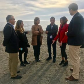Mar Sánchez demanda más recursos de personal para el Hospital de Santa Ana y las infraestructuras necesarias para el desarrollo económico y turístico de Motril